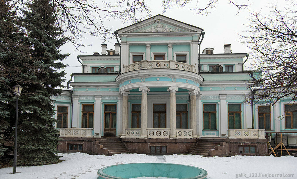 Moscow. Margarita Morozova's mansion