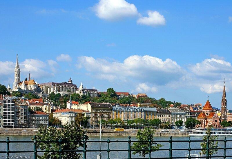 Буда и Будайская крепость в Будапеште