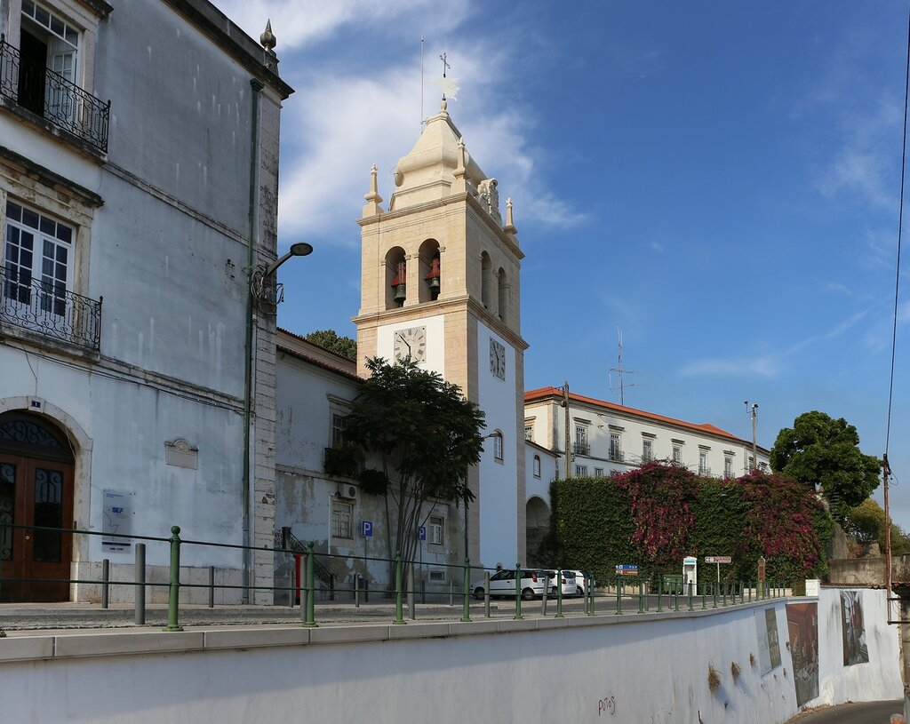 Leiria. Bell tower of the Cathedral (Torre Sineira)
