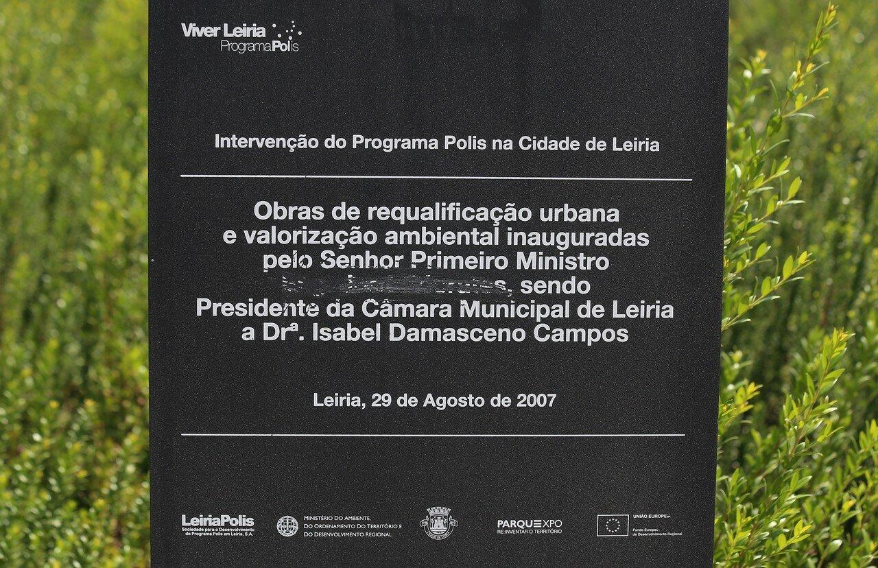 Leiria. Luís Camões Park (Jardim Luís de Camões)