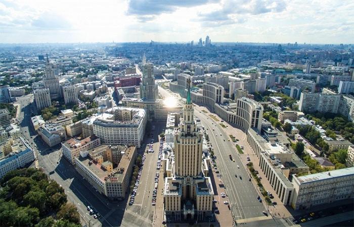 Благоустройство районов Москвы