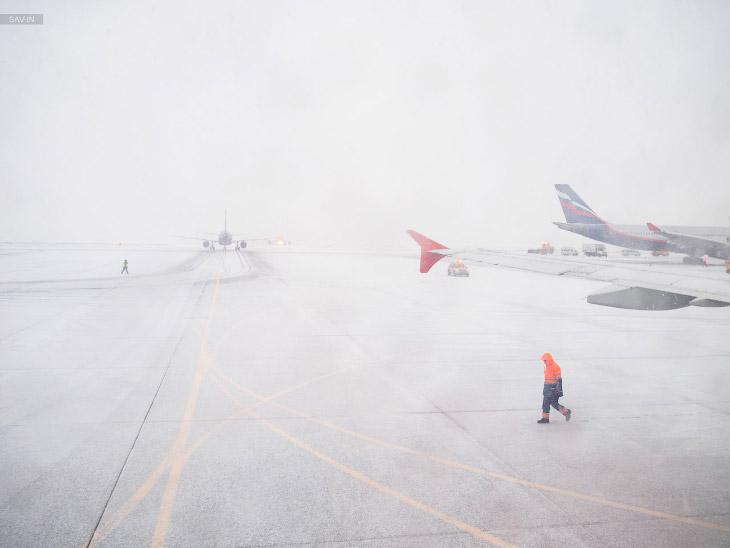 2. И спустя 3 часа под крылом самолёта вы увидите совсем иной пейзаж.