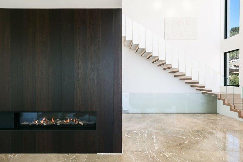 Лестница для дома на второй этаж дизайн фото 17