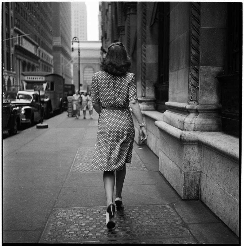 На улицах Нью-Йорка, 1946 год