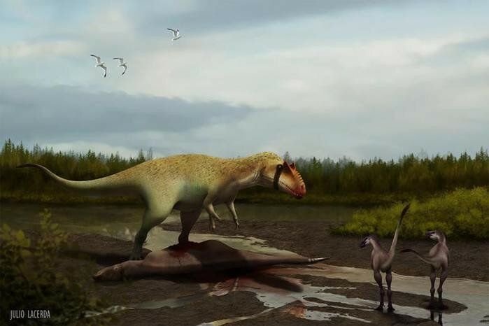Динозавр, который охотился на тираннозавров
