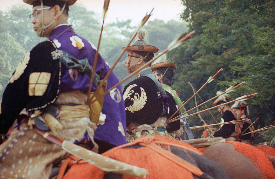 Hundreds of years ago in Japan, equestrian sports were part of an ancient Imperial court ceremony to