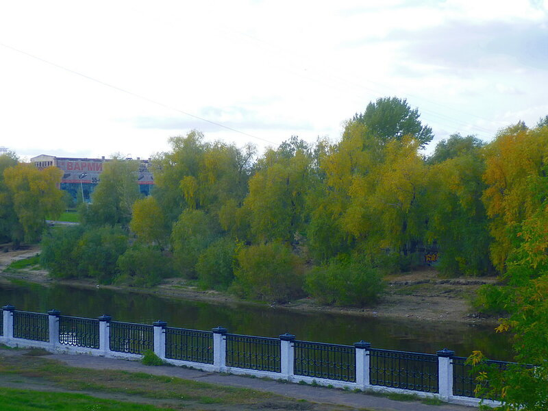 Омск, река Омь (Omsk, the river Om)