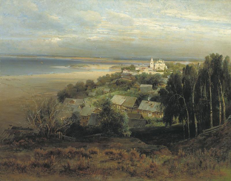 Саврасов. Печерский монастырь