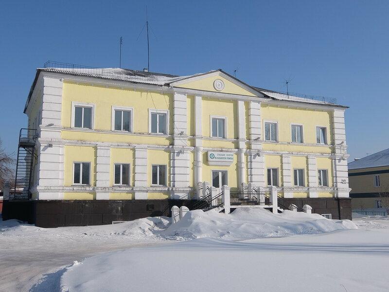 Киселевск - Здание станции скорой помощи