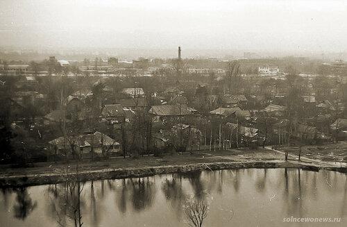 Старое Солнцево (пруд у школы 1007) фото Рушан Зарипов #Солнцево