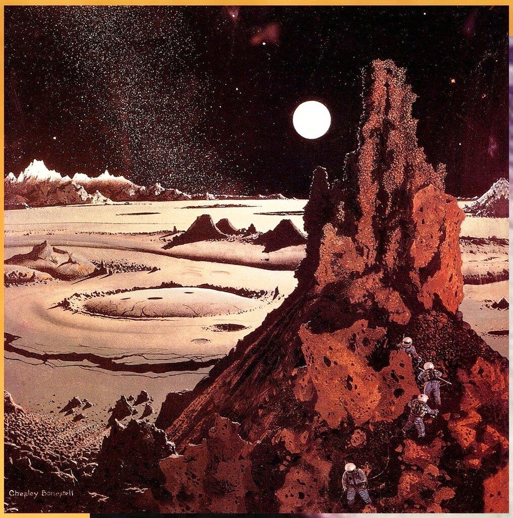 Чесли Боунстелл. Американский художник. QMan_CB_TAOCB_2130_Exploring_the_Moon_by_Earthlight.jpg