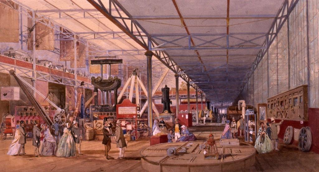 The Machinery Court  c.1851