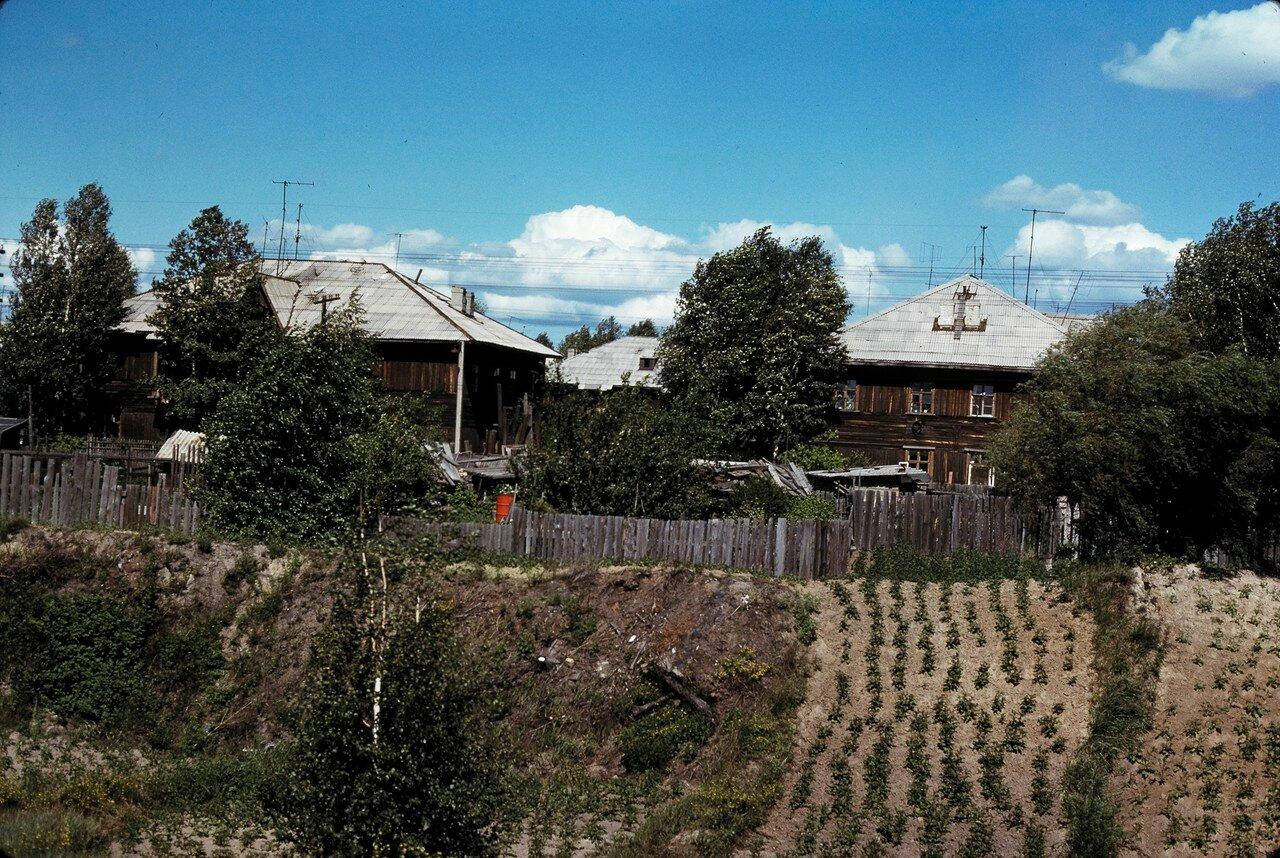 Окрестности Ангарска. Картофельные грядки