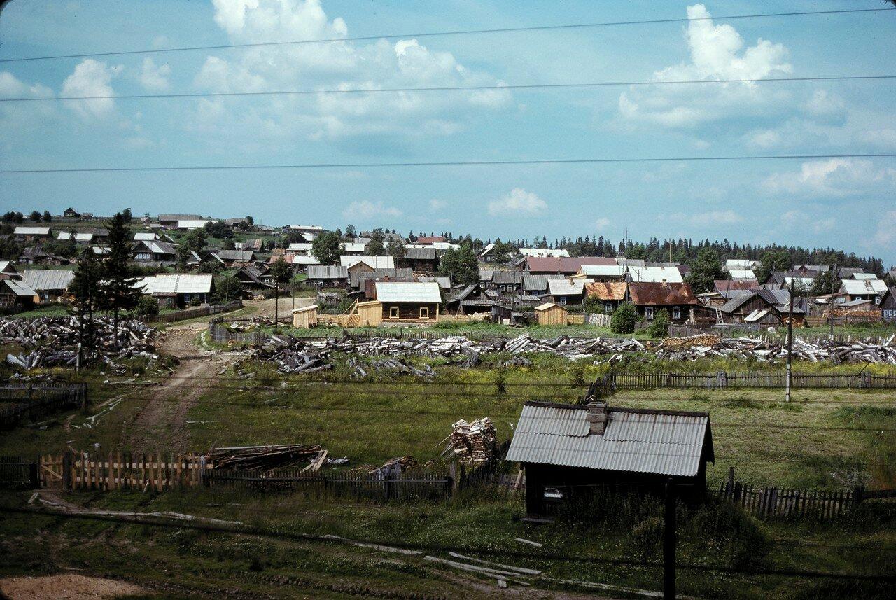 Уральская деревня