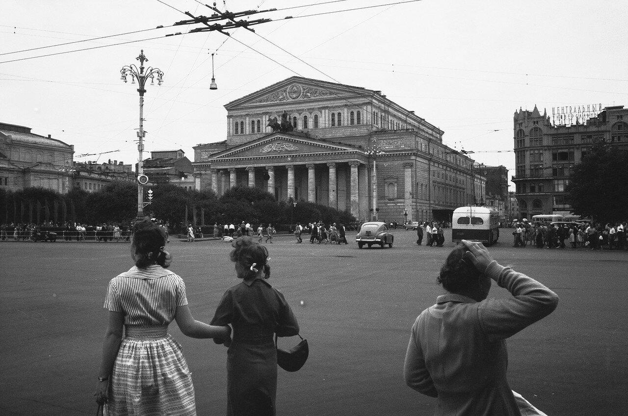 Площадь Свердлова. Большой театр