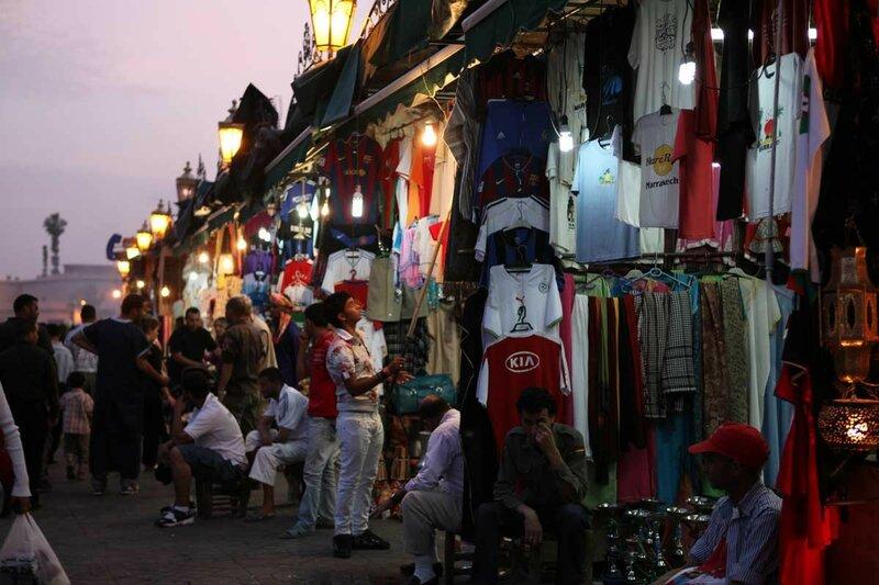 Марракеш - рынок
