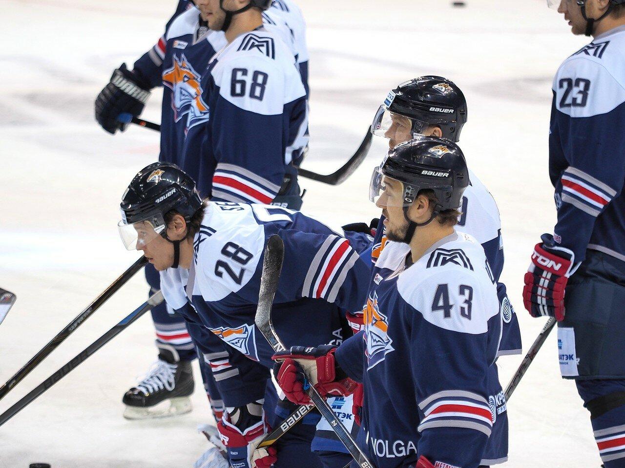 43Восток 1/2 плей-офф Металлург - Сибирь 08.03.2016