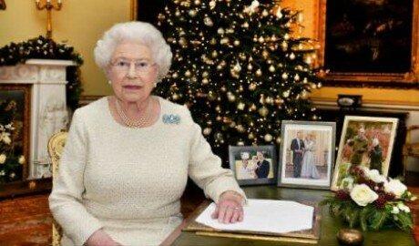 Королева Британии поздравила нацию с Рождеством