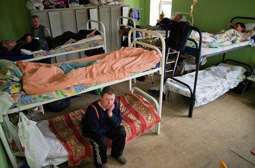 Социальные службы Москвы предоставляют ночлег бездомным