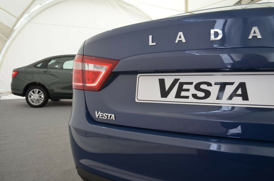 LADA Vesta. Фотообзор.