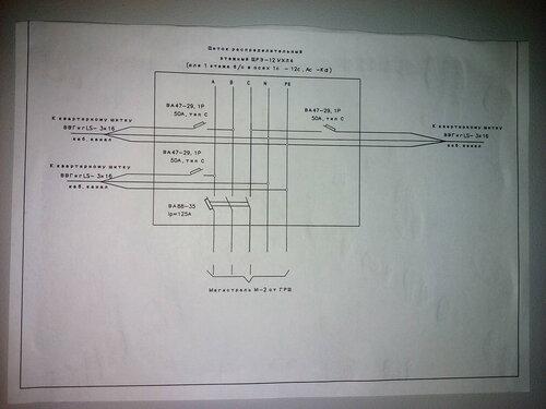 Срочный вызов электрика аварийной службы из-за ослабления контакта нулевой шины в этажном щите и перебоев электроснабжения в трёх квартирах