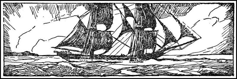 Yankee Ships in Pirate Waters by R.S. HollandPublished by Garden City Publishing ~ 1931 год.