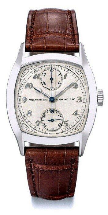 Самые дорогие часы в мире - Patek Philippe Single-Button Chronograph Watch (1928)