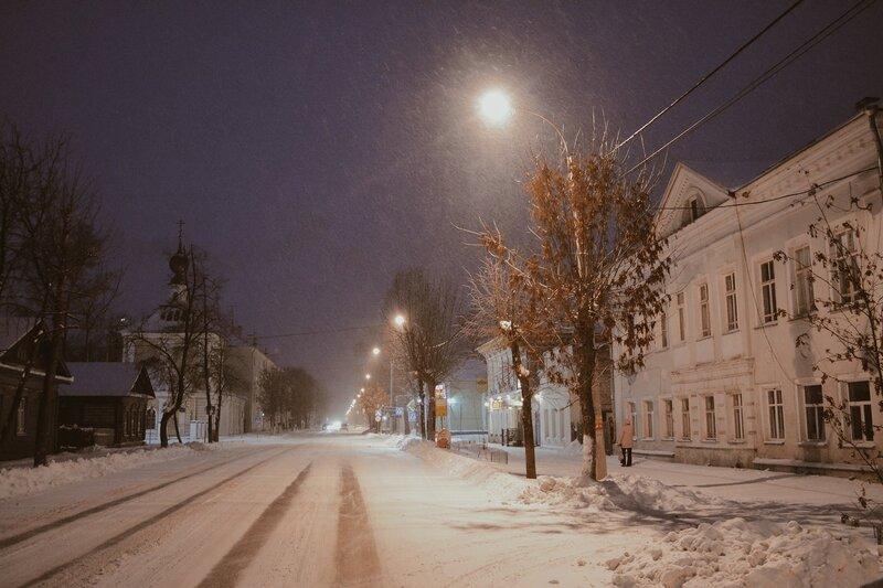 Ночной Ростов и купеческий город...Россия