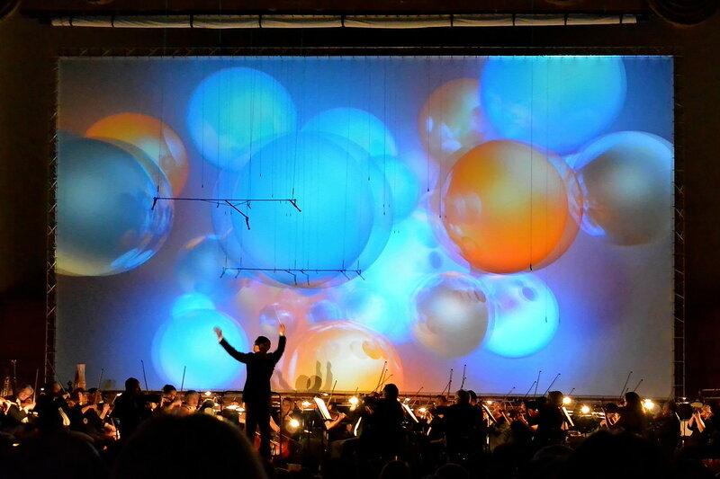 Классический концерт в 3D