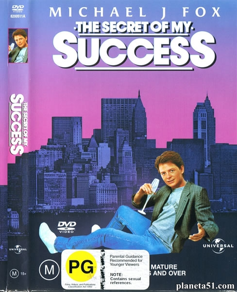 Секрет моего успеха / The Secret of My Success (1987/HDRip)