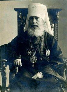 Архиепископ Выборгский и Финляндский Антоний (Вадковский), благословивший в 1898 году основание самостоятельного Прихода.