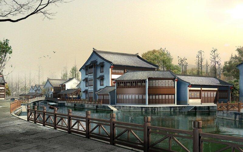 Красивые китайские пейзажи. Фотографии природы Китая, похожей на картины 0 1c4d38 a2435542 XL