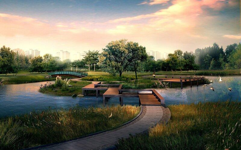 Красивые китайские пейзажи. Фотографии природы Китая, похожей на картины 0 1c4d4b 4e489edc XL