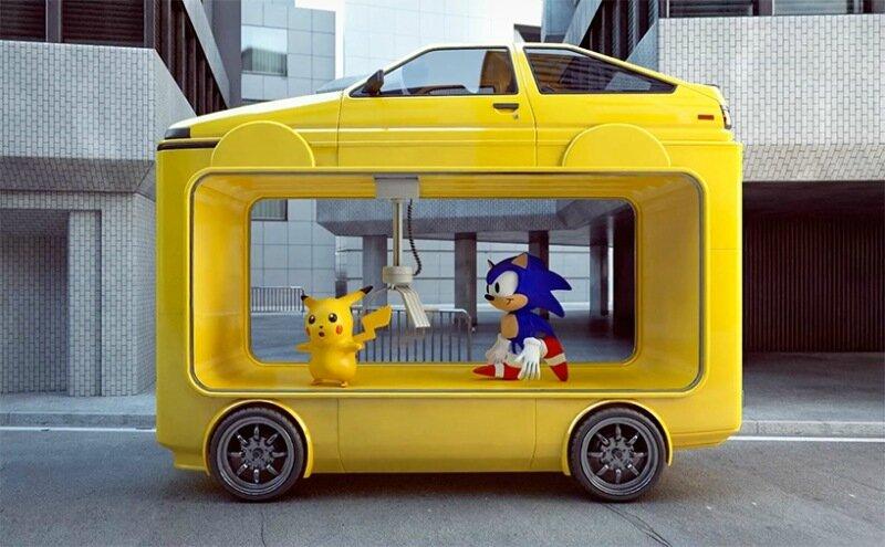 Дизайнер Крис Лабруй строит скульптуры из машин (фото, видео)