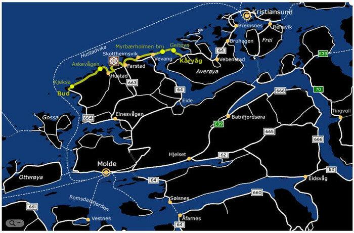 Норвегия. Атлантическая дорога. Фотографии, видео
