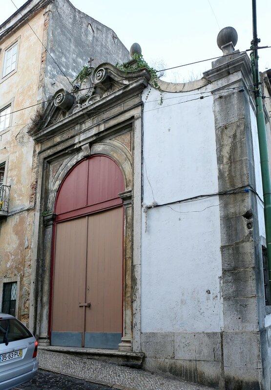 Lisbon. Largo do Terreirinho