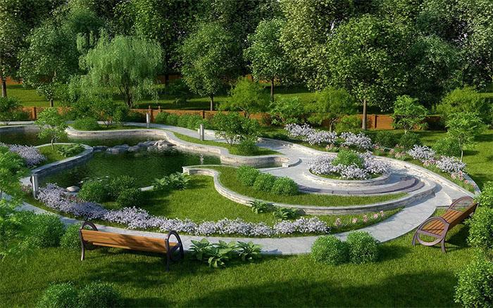 Благоустройство и строительство парков