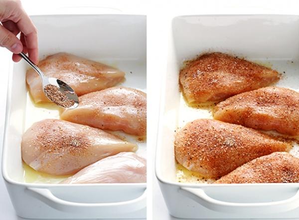 4. Выпекайте при высокой температуре. Еще один небольшой секрет сочного мяса: быстрое запекание при