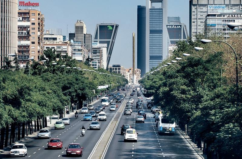 Улицы и архитектура Мадрида фото 2