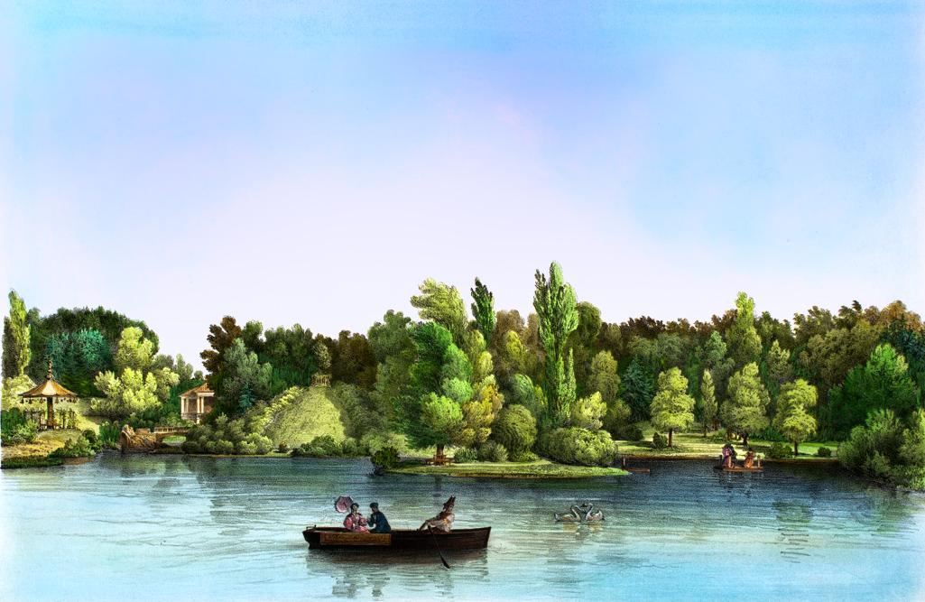 Вид на Николаевский холм и остров Любезного.