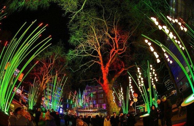 Фестиваль света в Лондоне 2016