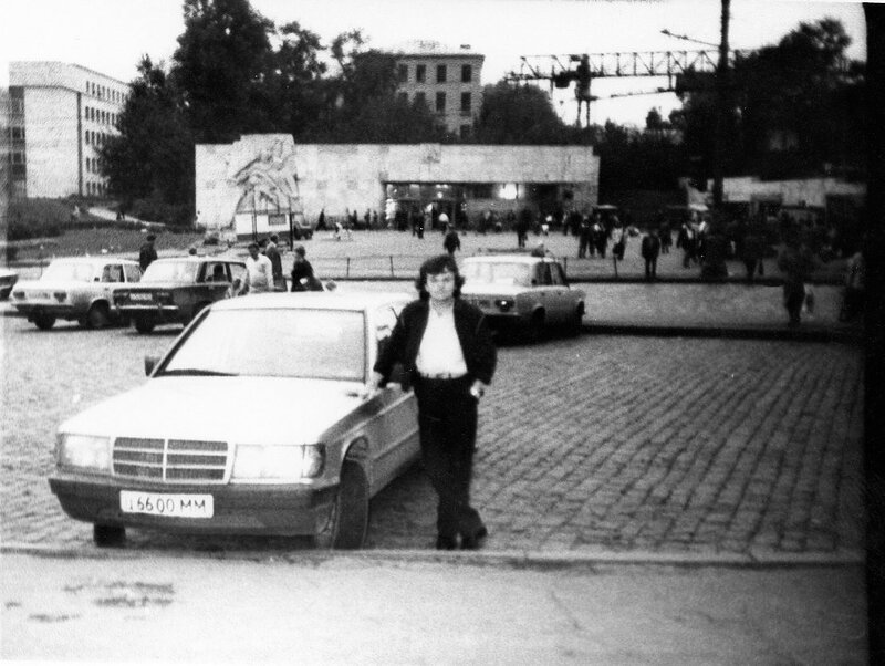 262159 Вид  на   вход   в   метро   _Баррикадная_. Пресня. кон. 80-х.jpg