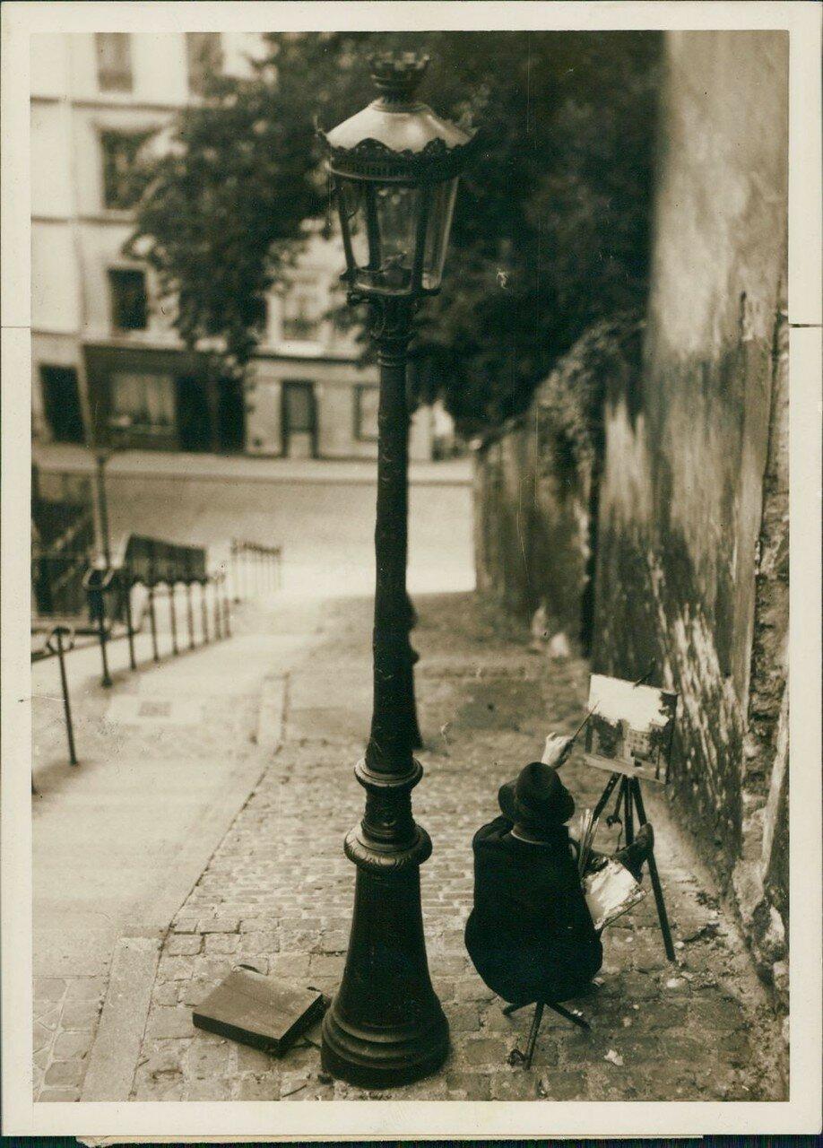 1939. Площадь Тертр