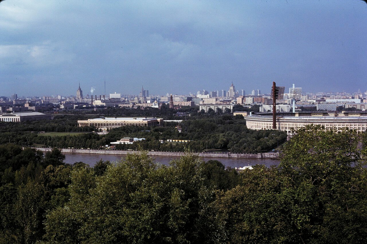 Вид с Ленинских гор