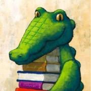 Крокодил и книги