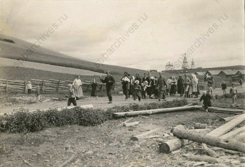 1910, крестьянская свадьба в Архангельской губернии.jpeg
