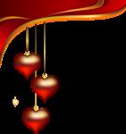 Decorative_Hearts_Pendants_Element_PNG_Clipart.png