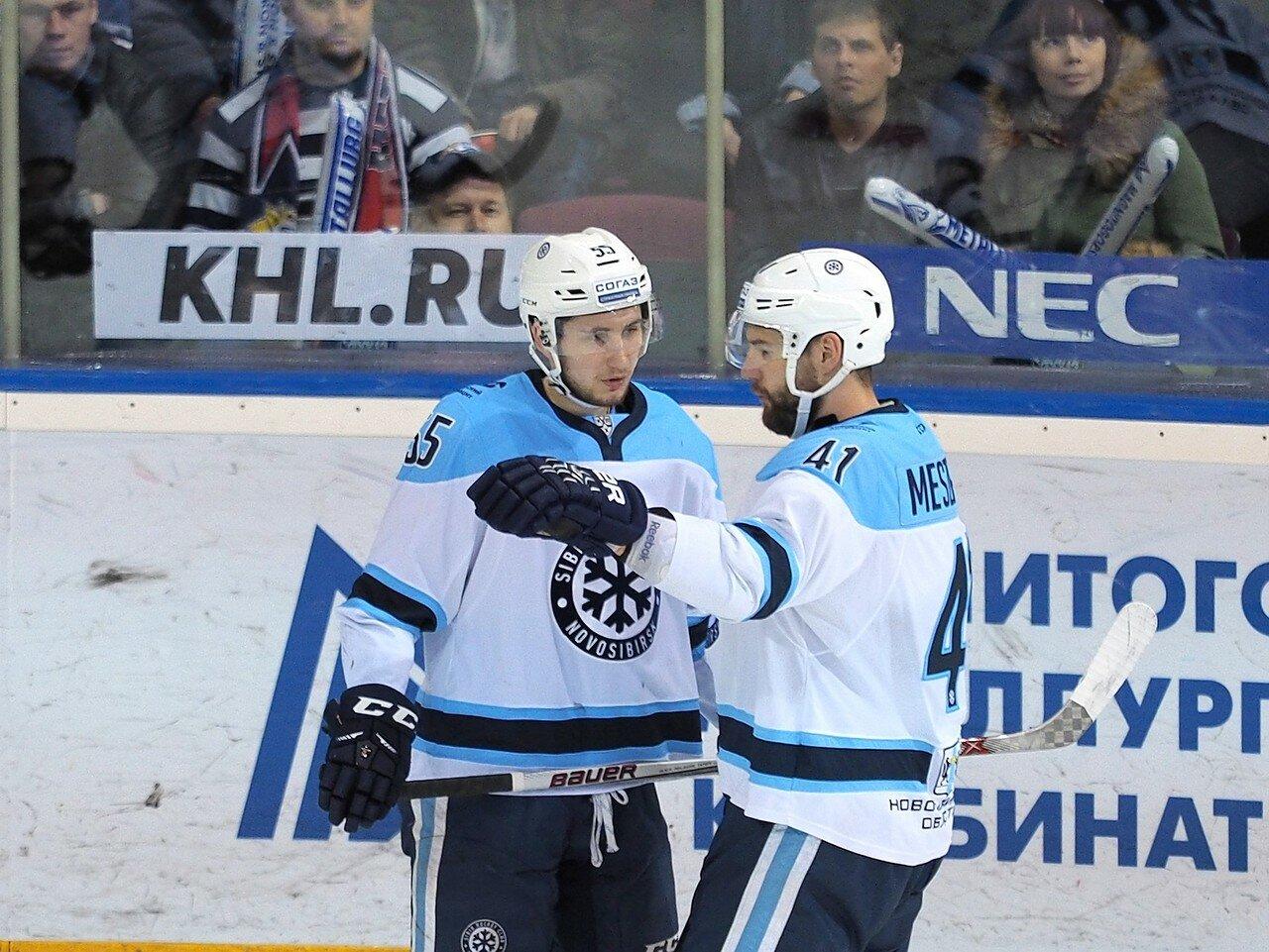 69Плей-офф 2016 Восток 1/2 Металлург - Сибирь 10.03.2016