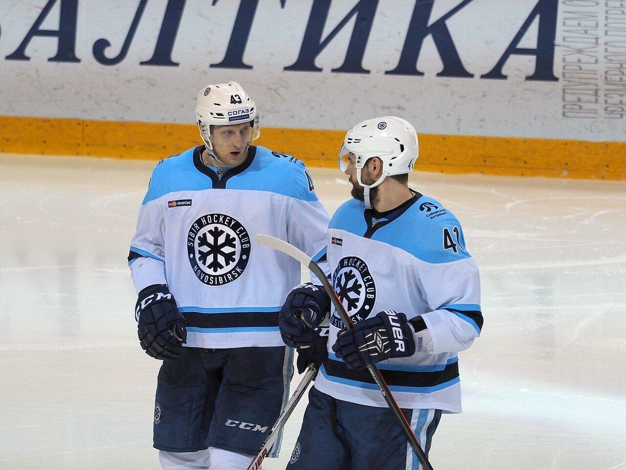 107Плей-офф 2016 Восток 1/2 Металлург - Сибирь 10.03.2016