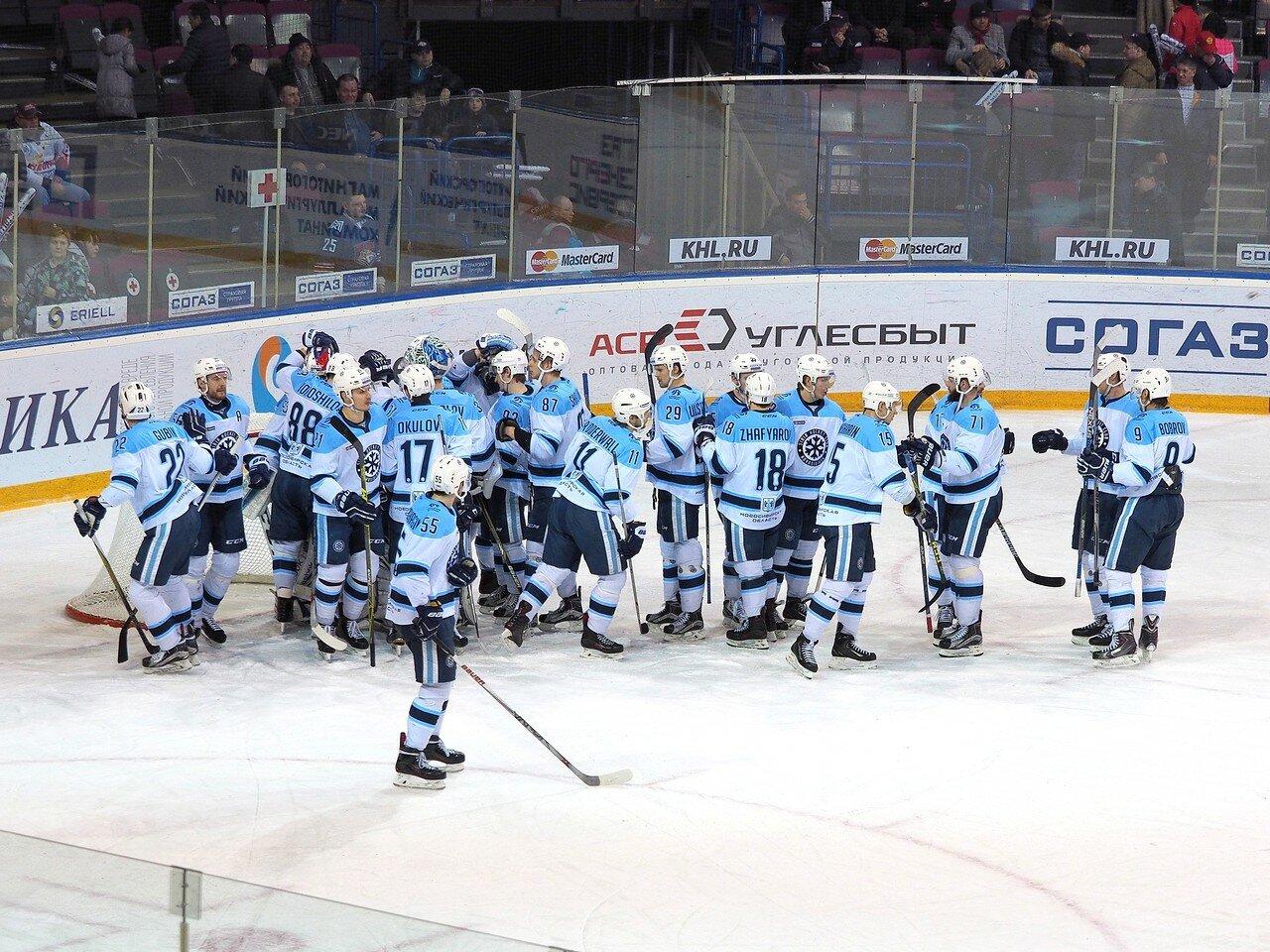 114Плей-офф 2016 Восток 1/2 Металлург - Сибирь 10.03.2016